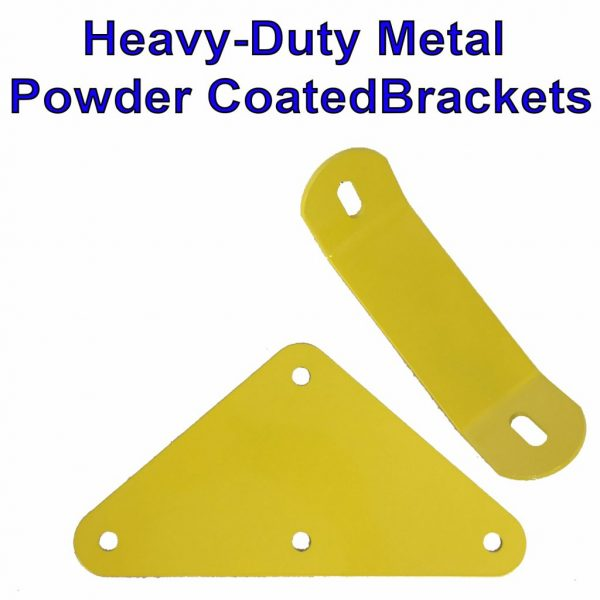 Heavy Duty Metal Powder Coated Brackets for All Tree Frogs Wooden Swing Sets