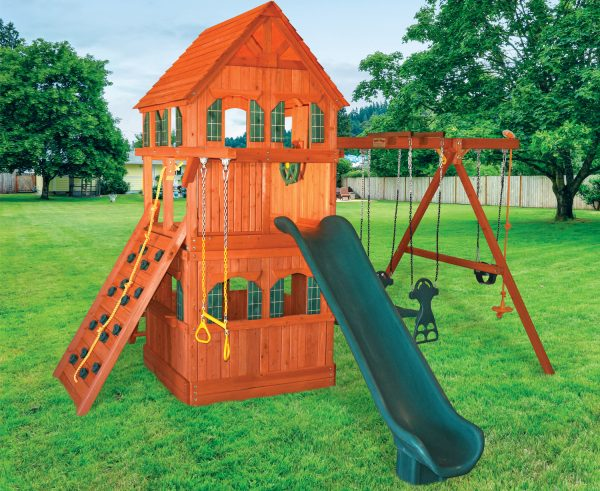 5.5 Bengal Fort Fully Enclosed Scoop Slide