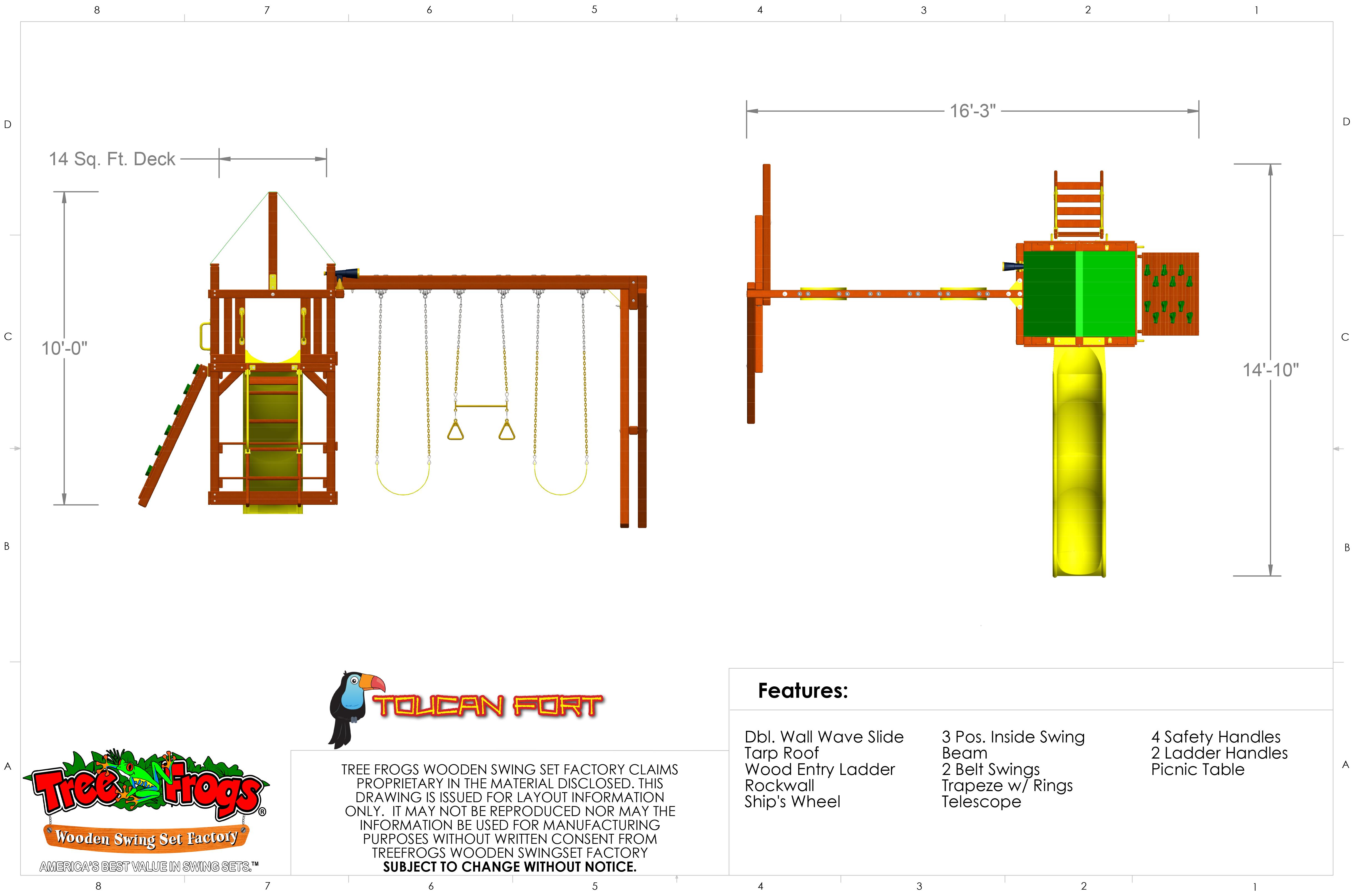 Pg 8 - Toucan Fort - Tarp