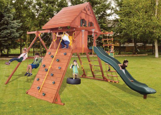 Ladder Base Swing Sets Treefrogs Swingsets