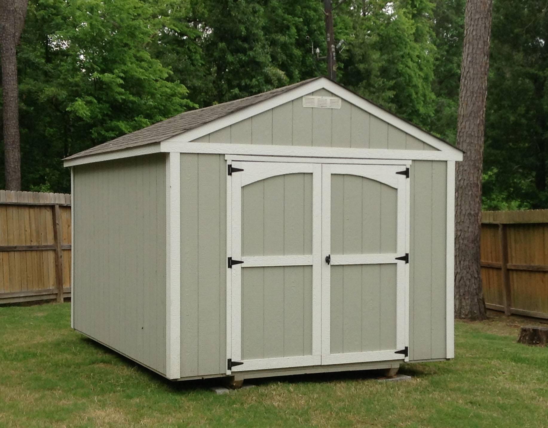 Backyard Storage Sheds - Storage Sheds San Antonio ...